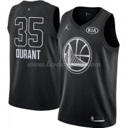 Maillot NBA Pas Cher Golden State Warriors Kevin Durant 35# Black 2018 All Star Game Swingman..